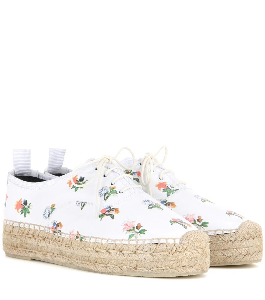 clearance store cheap price original Saint Laurent Floral Espadrille Sneakers prxeY
