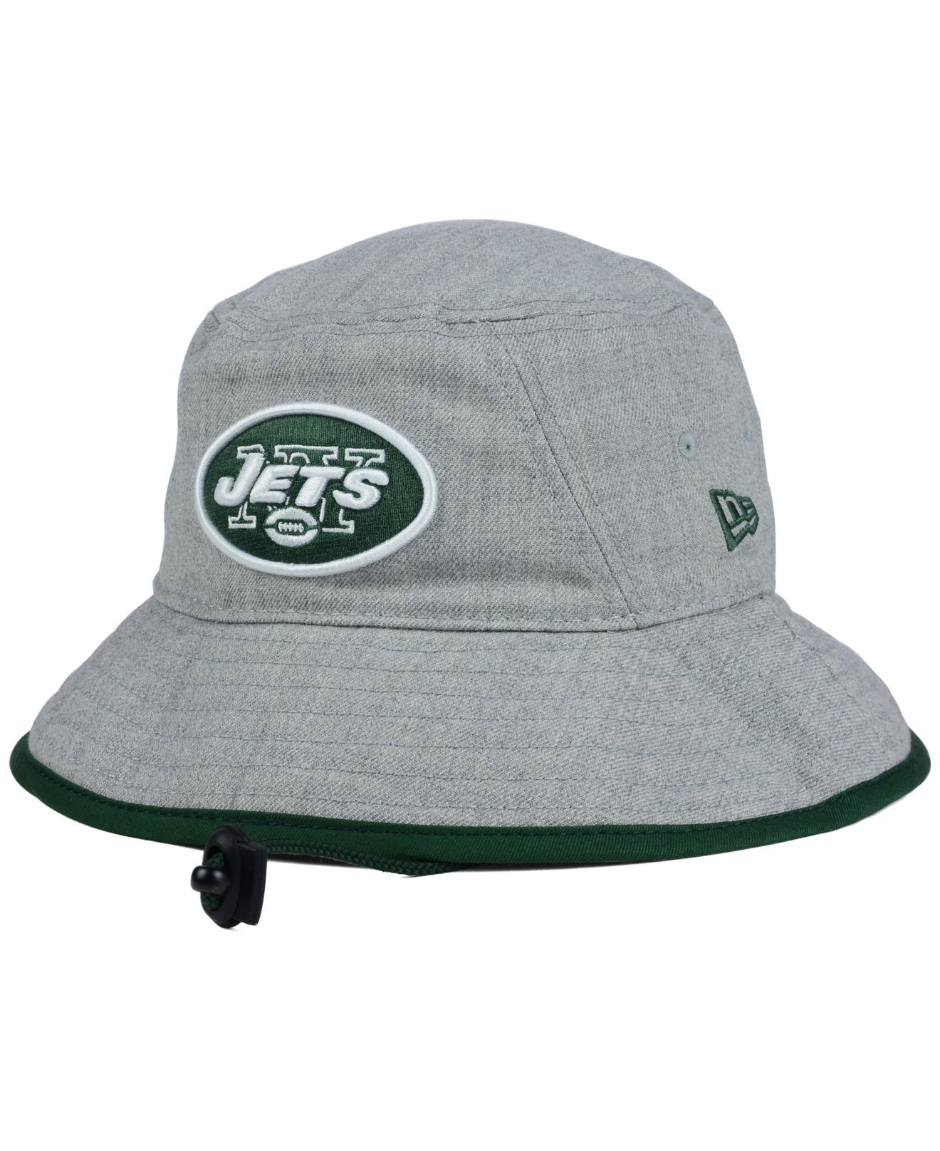 5483a93934c norway lyst ktz new york jets nfl heather gray bucket hat in gray dbcd3  41a63