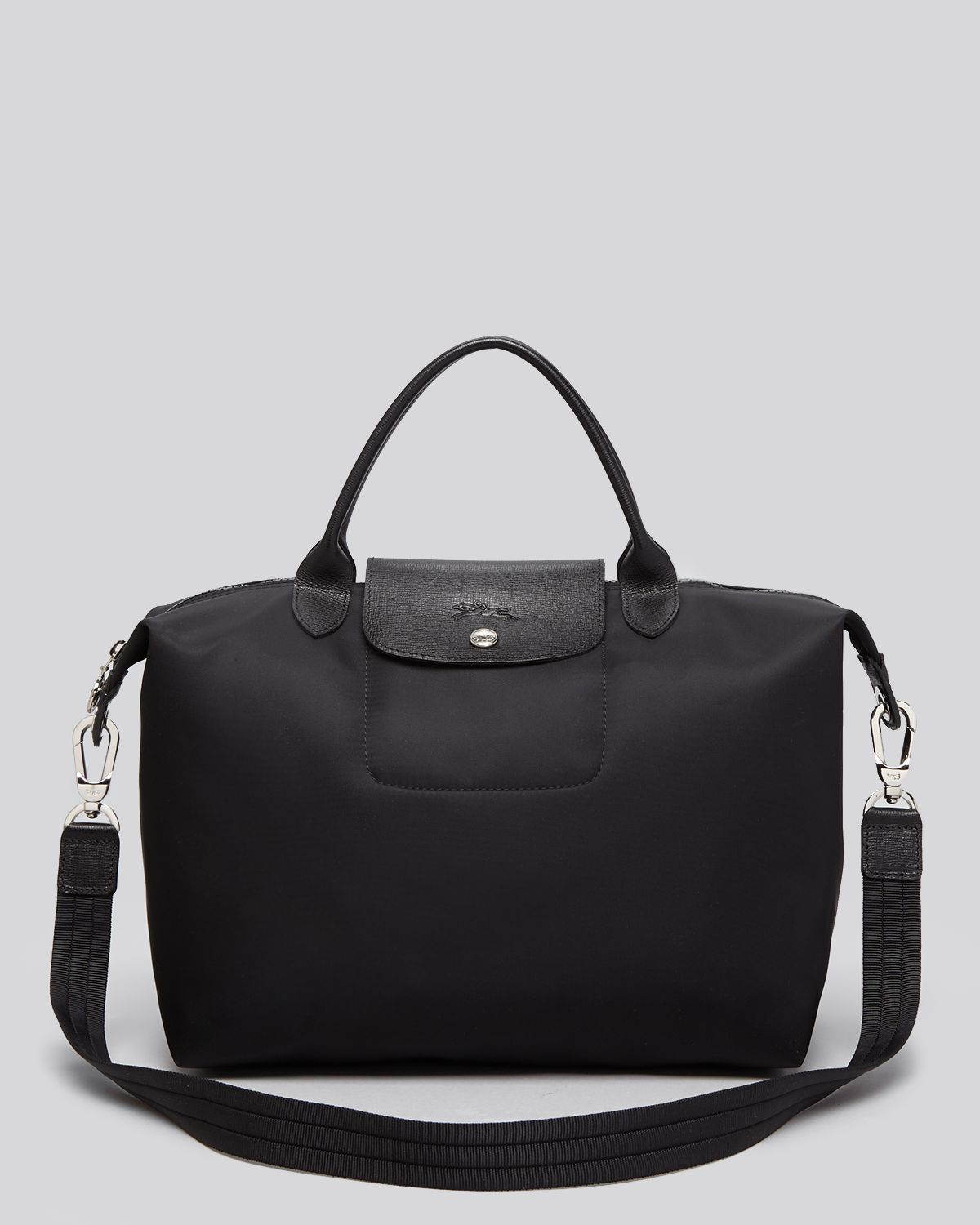 iPhone designer cell phone cases for iphone 5 : Longchamp Le Pliage Neo Medium Tote in Black : Lyst
