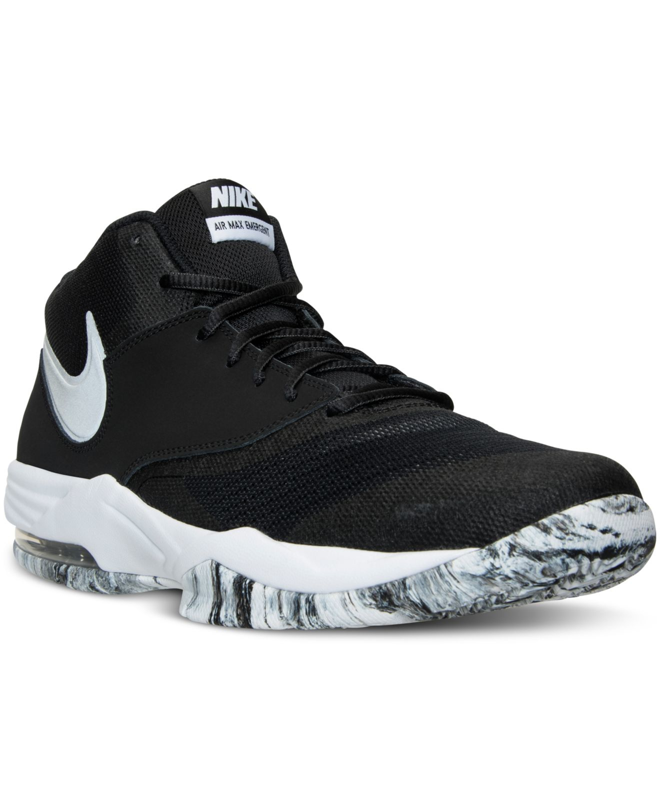 huge discount 7977f 96dca Lyst - Nike Men s Air Max Emergent Basketball Sneakers From Finish ...