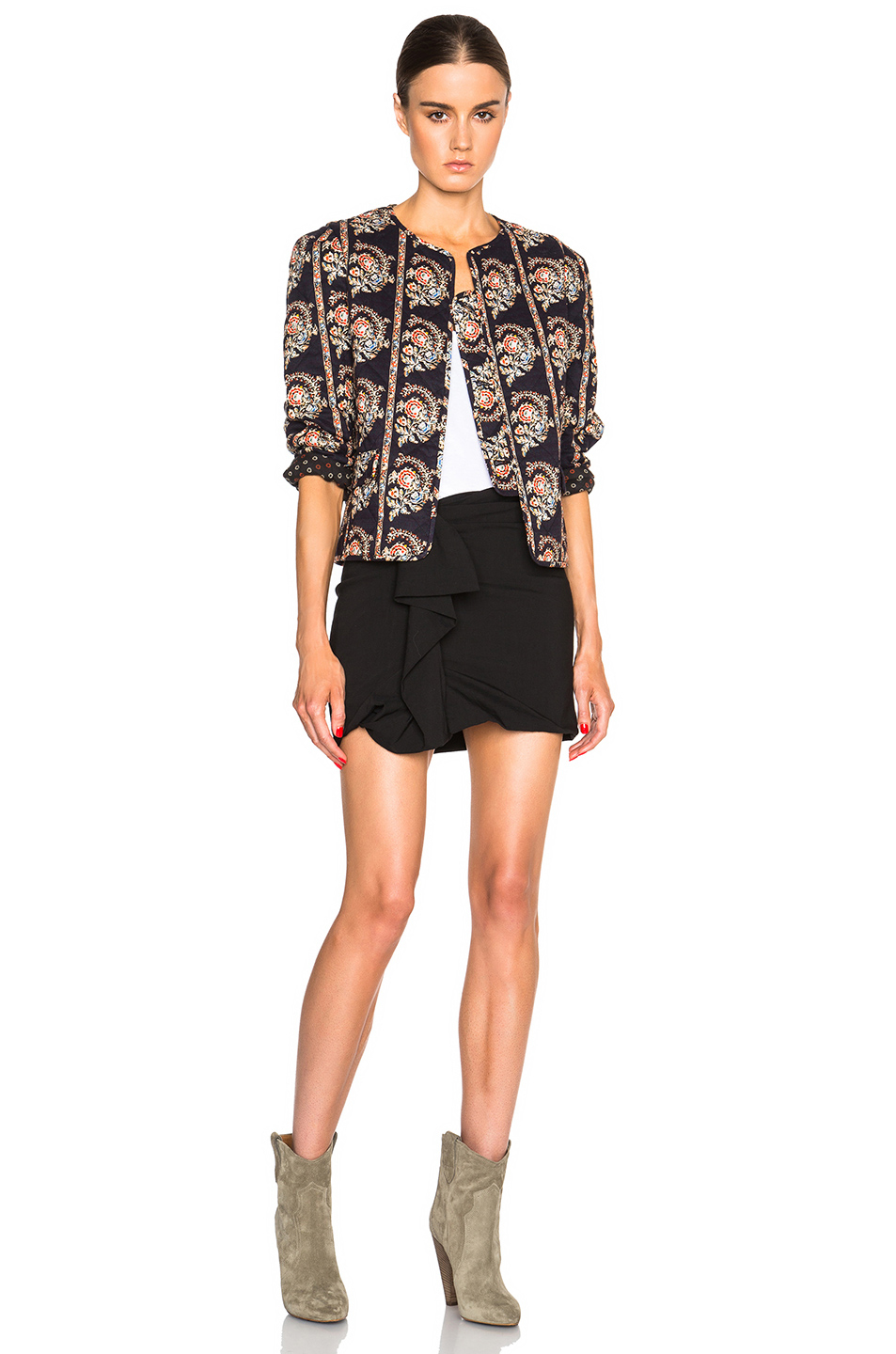 Lyst - Étoile Isabel Marant Elmer Quilted Jacket in Black