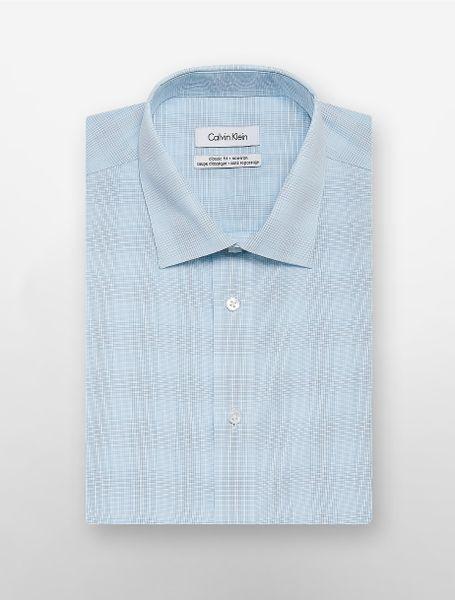 Calvin Klein Blue White Label Regular Fit Opal Aqua