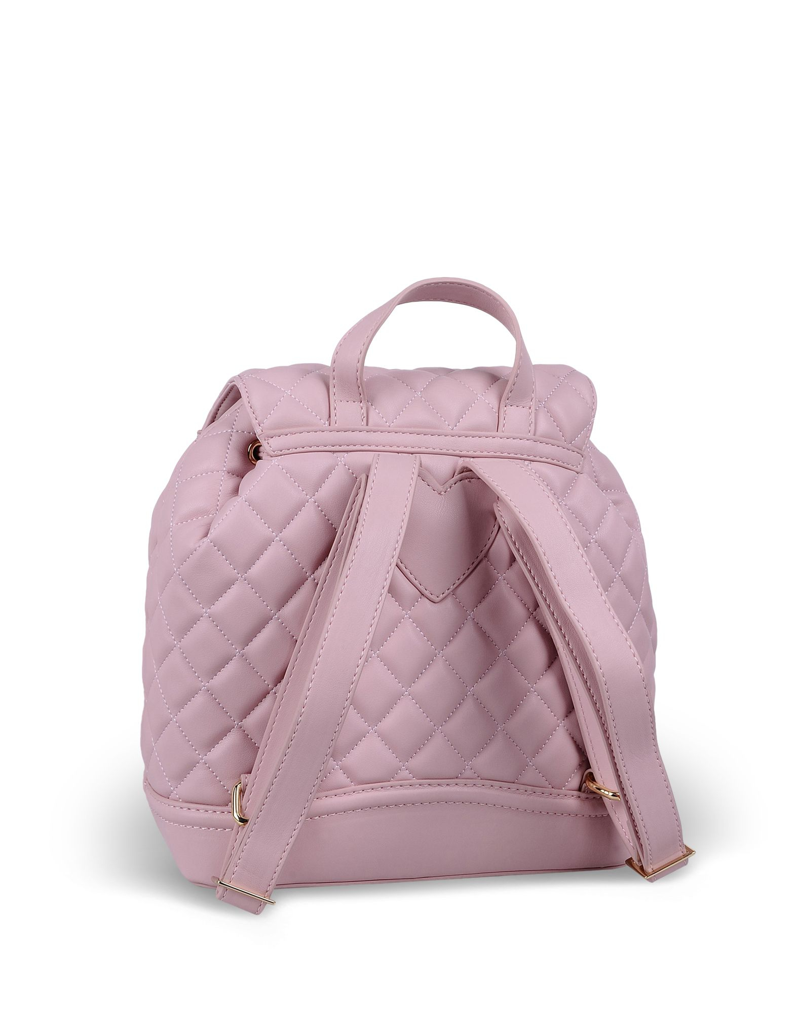 love moschino rucksack in pink lyst. Black Bedroom Furniture Sets. Home Design Ideas