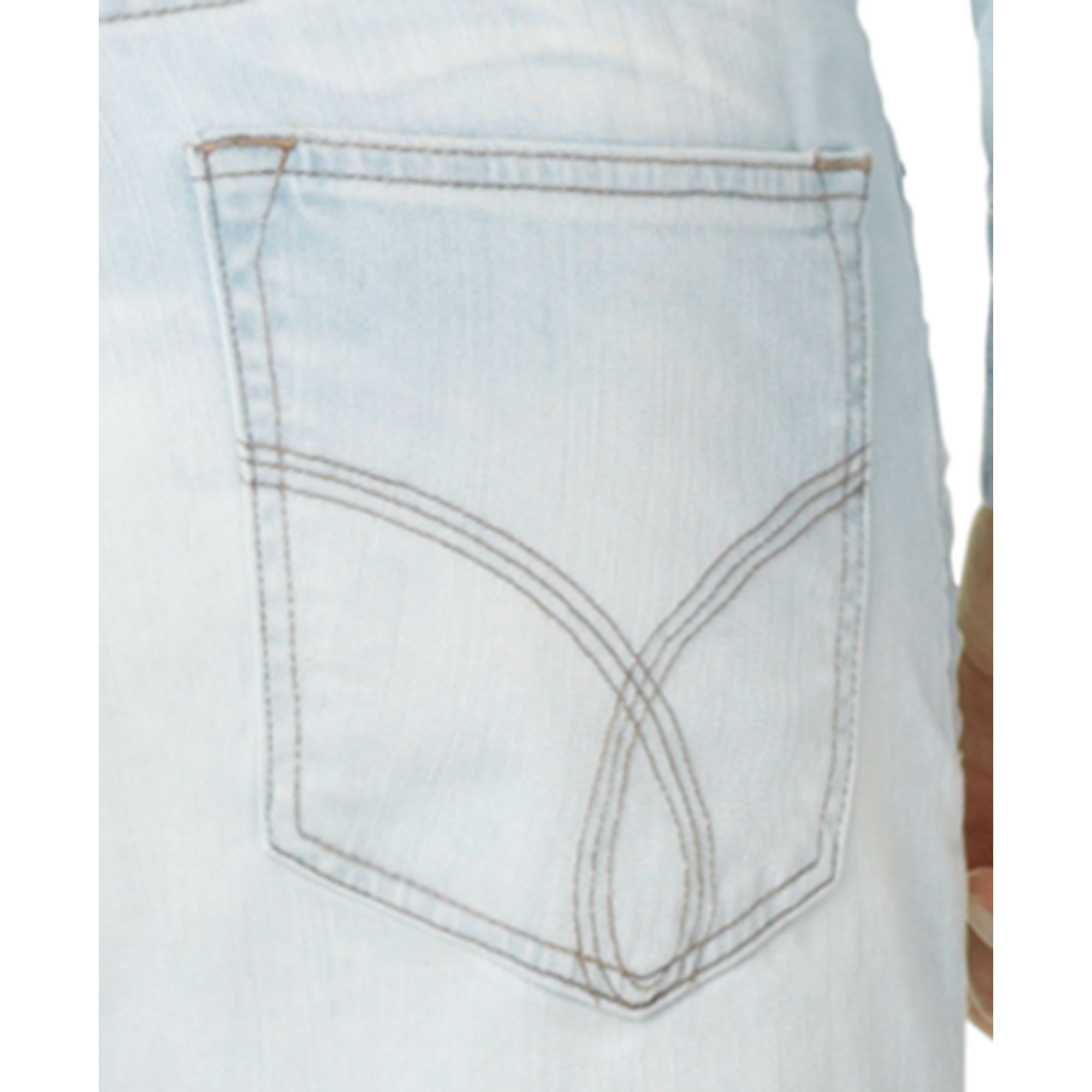 calvin klein jeans slim straight jeans in blue for men lyst. Black Bedroom Furniture Sets. Home Design Ideas