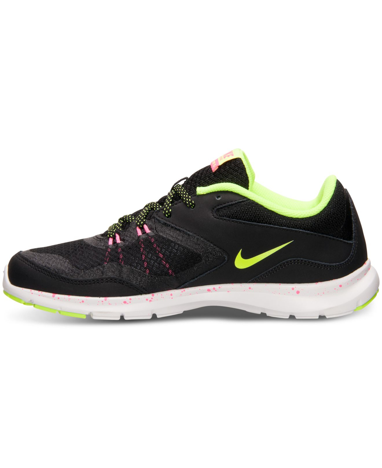 nike women 39 s flex trainer 5 training sneakers from finish. Black Bedroom Furniture Sets. Home Design Ideas