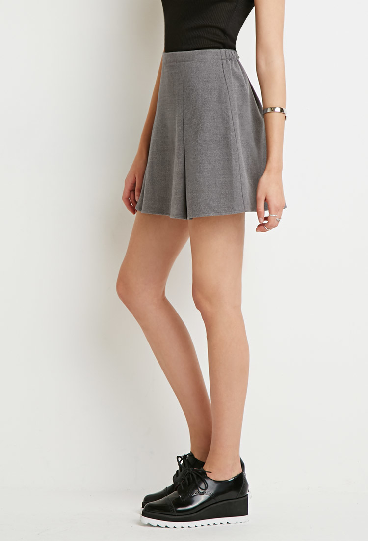Grey Mini Skirt 46