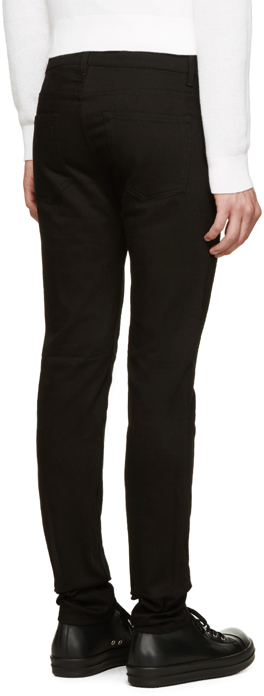 Acne studios Black Ace Stay Cash Jeans in Black for Men | Lyst