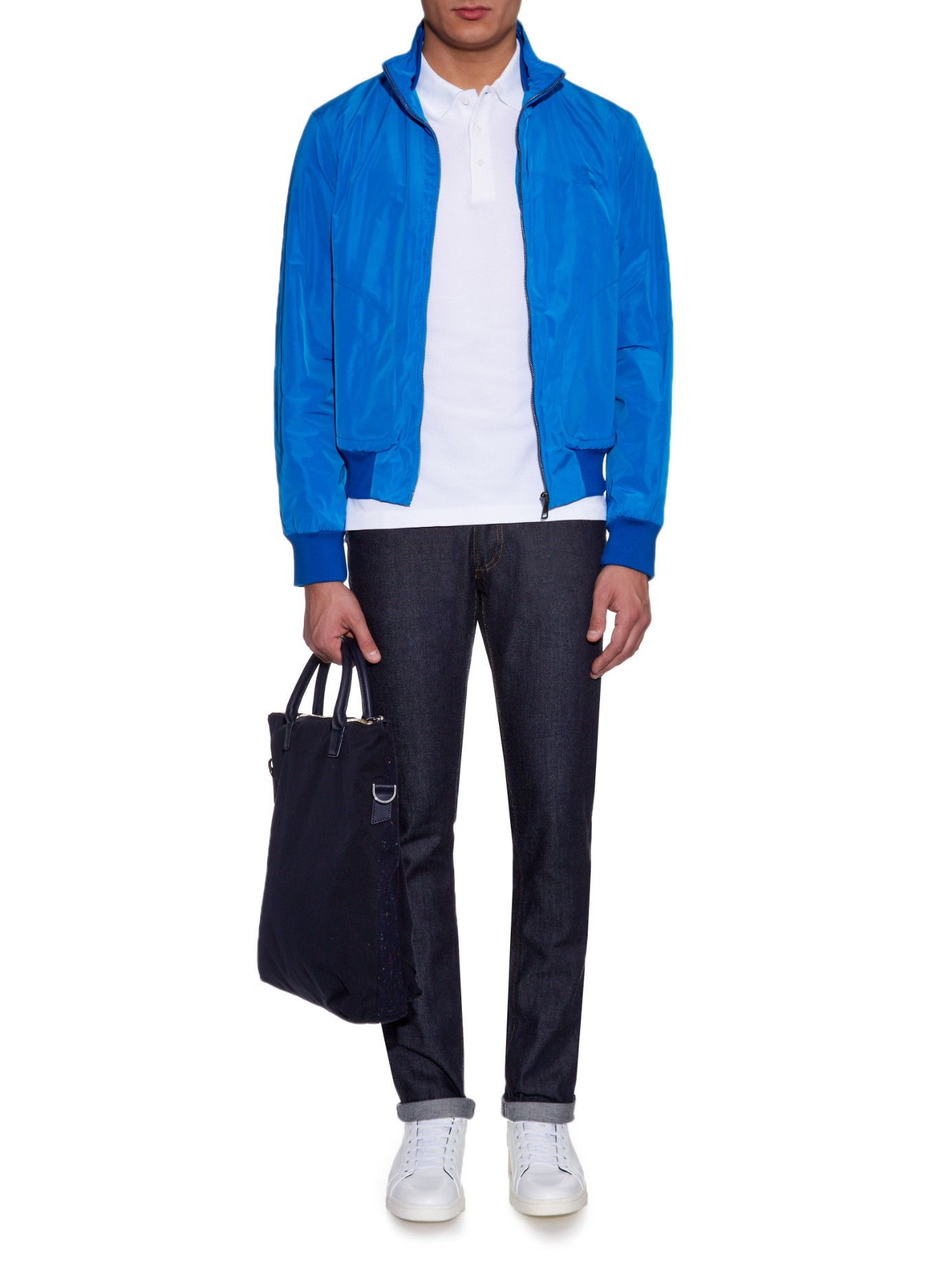 burberry clearance outlet online oftr  burberry blue jacket