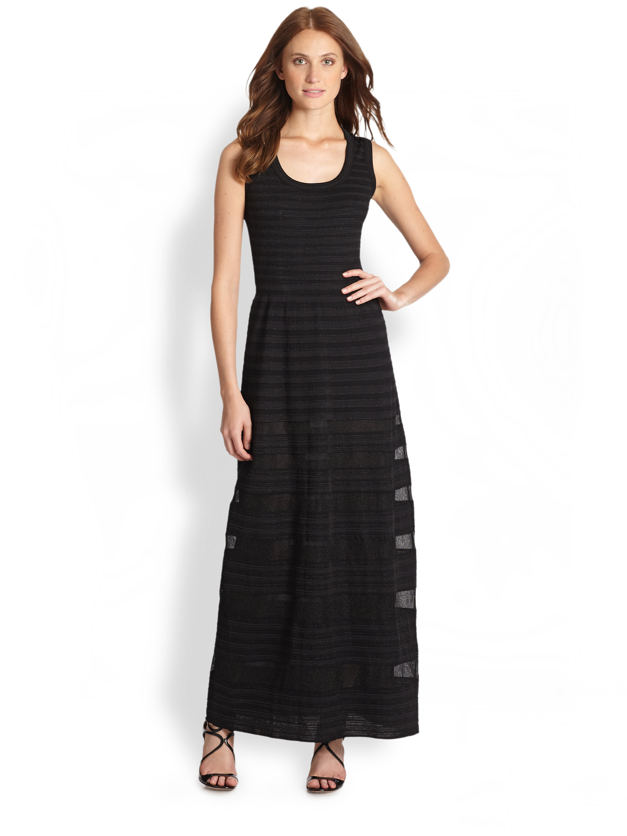 M missoni halter maxi dress