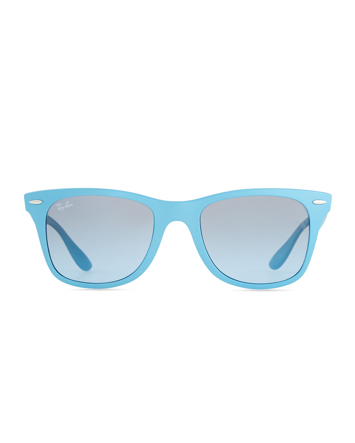 867c014a50 ... ireland lyst ray ban liteforce tech wayfarer sunglasses light blue in  blue 8f70a 8e85a