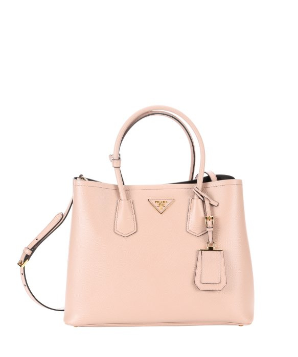 19679e08fd73 ... where can i buy lyst prada cameo saffiano leather convertible tote in  pink 07af5 22c96