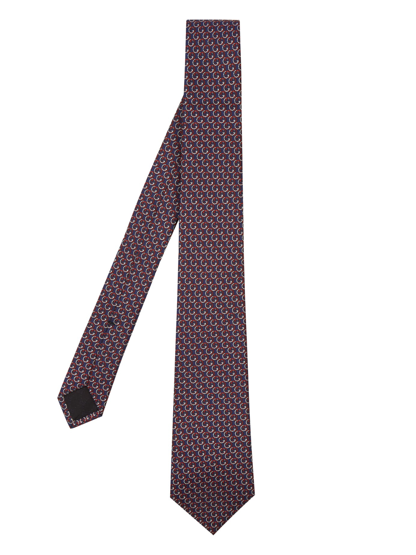 873e73e2a9ac Gucci Gg-print Silk Tie in Red for Men - Lyst