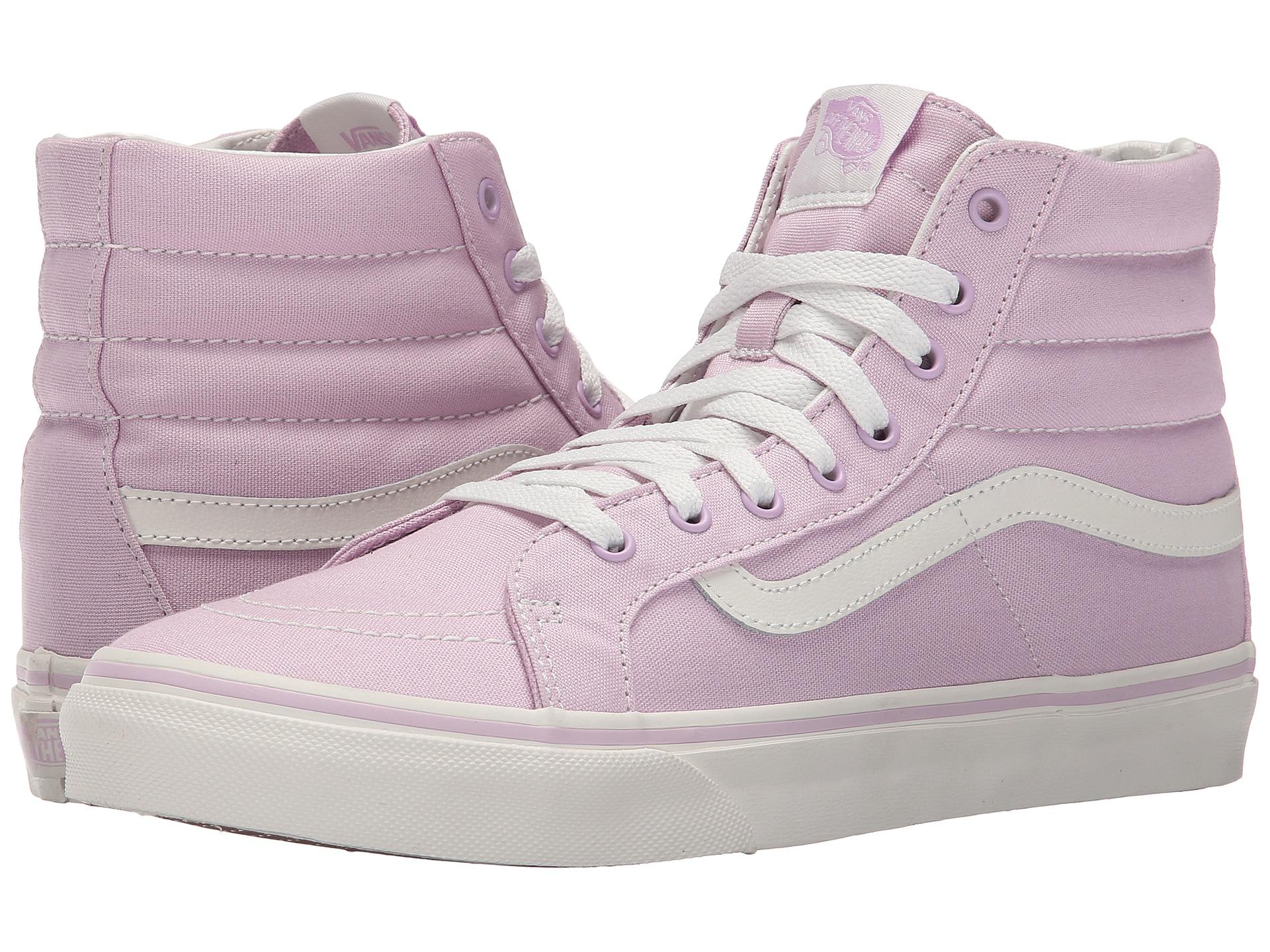 256ff1d58a1 Lyst - Vans Sk8-hi Slim in Purple