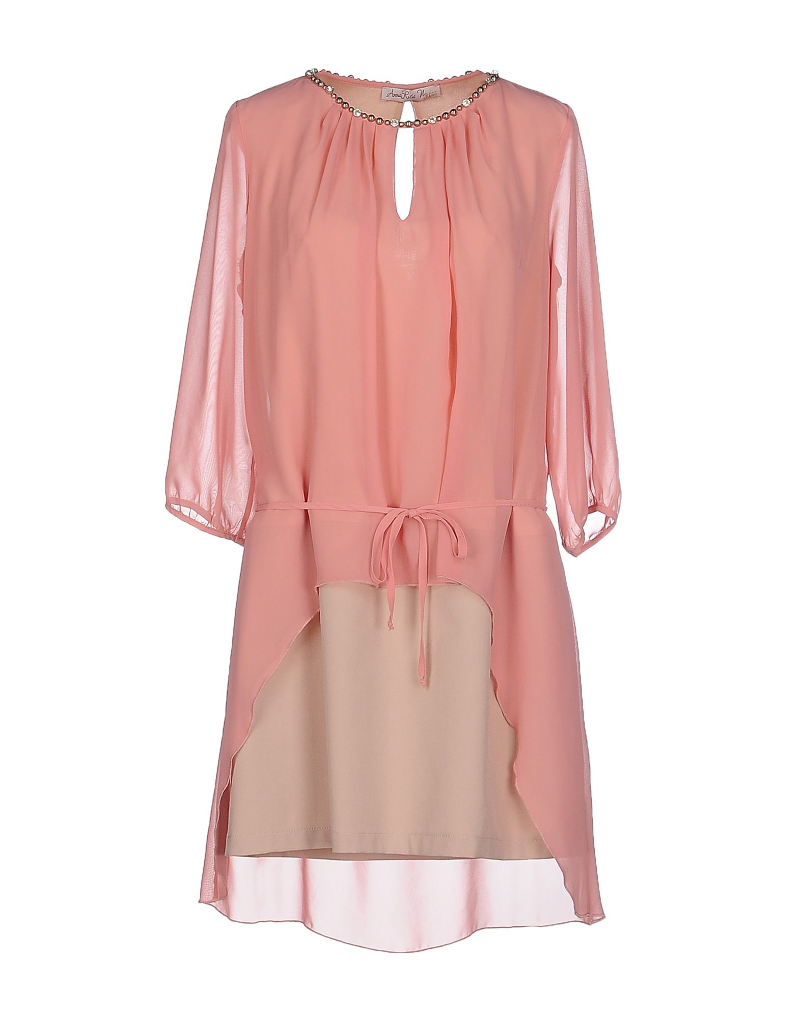 Annarita N Short Dress In Pink Pastel Pink Save 46