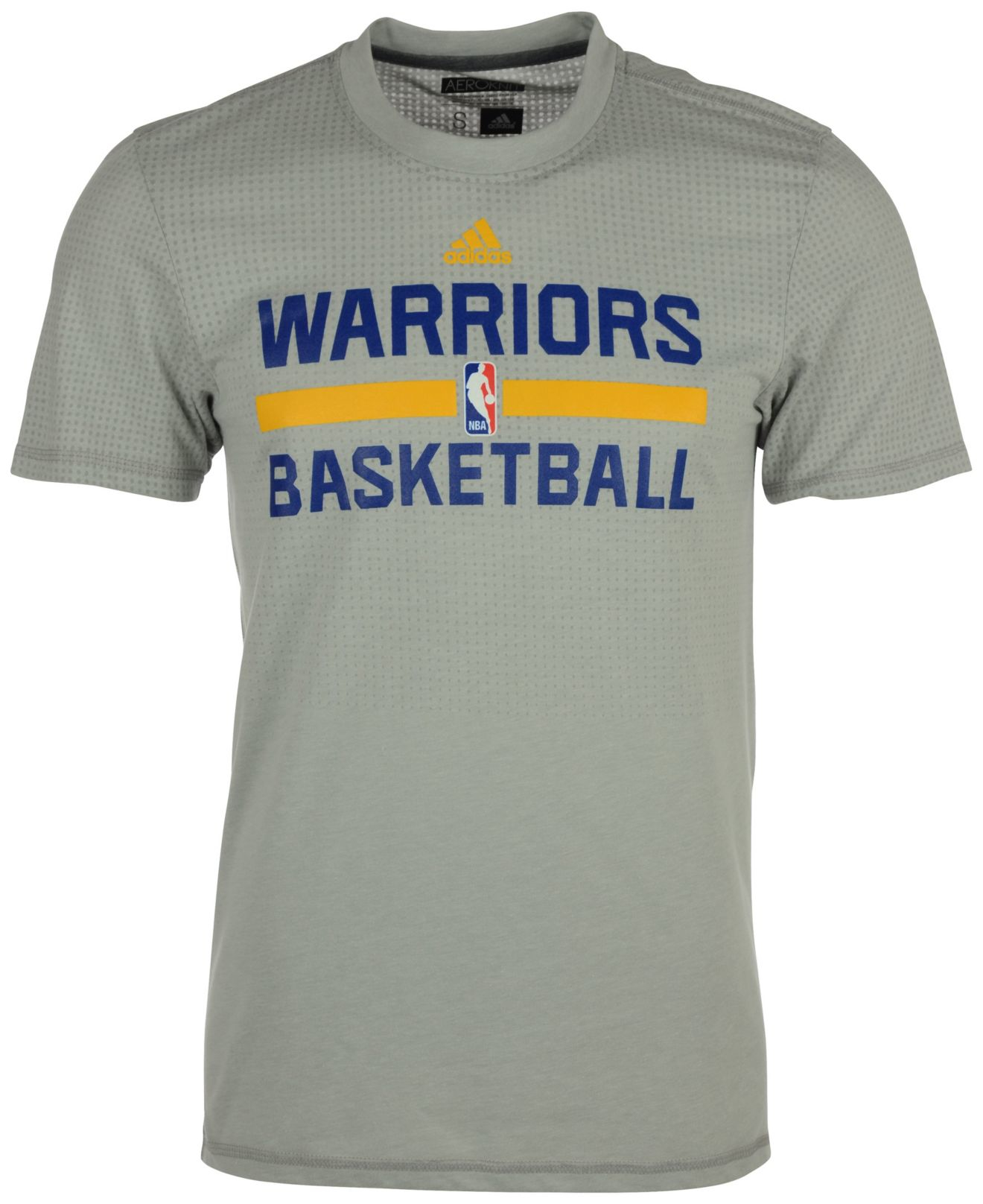 b3a9d6b58ed7a Lyst - adidas Men s Golden State Warriors On Court Graphic Aeroknit ...