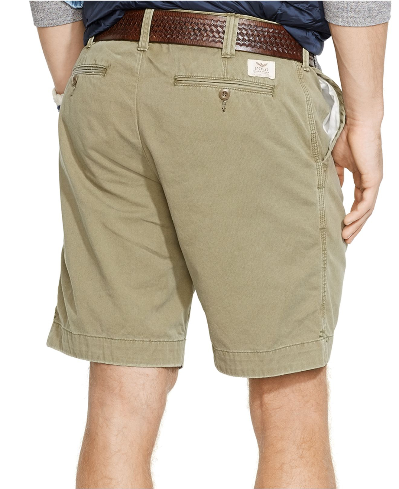94c4faca1 Polo Ralph Lauren Relaxed-fit Twill Surplus Short in Green for Men ...