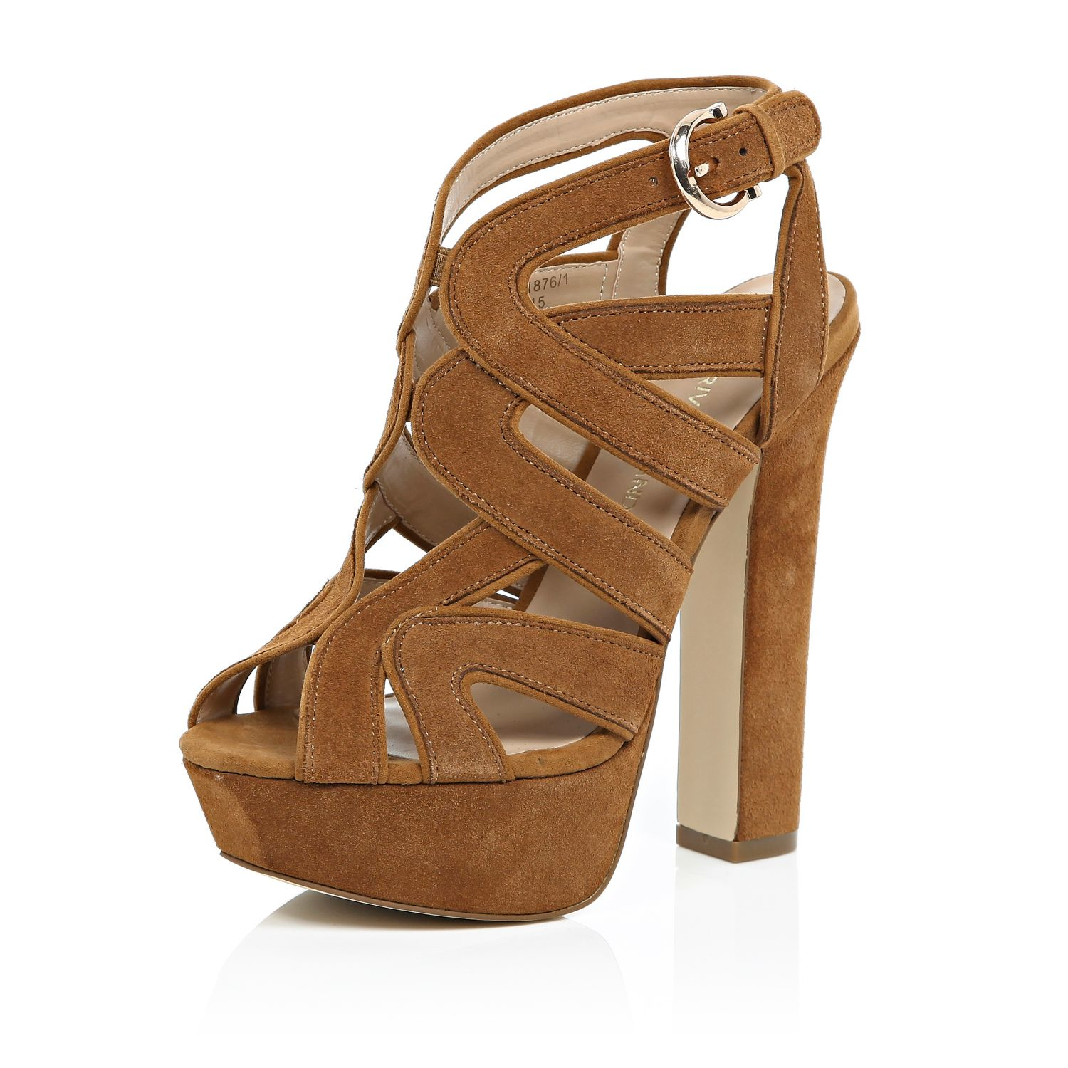 Brown Platform Heels - Is Heel