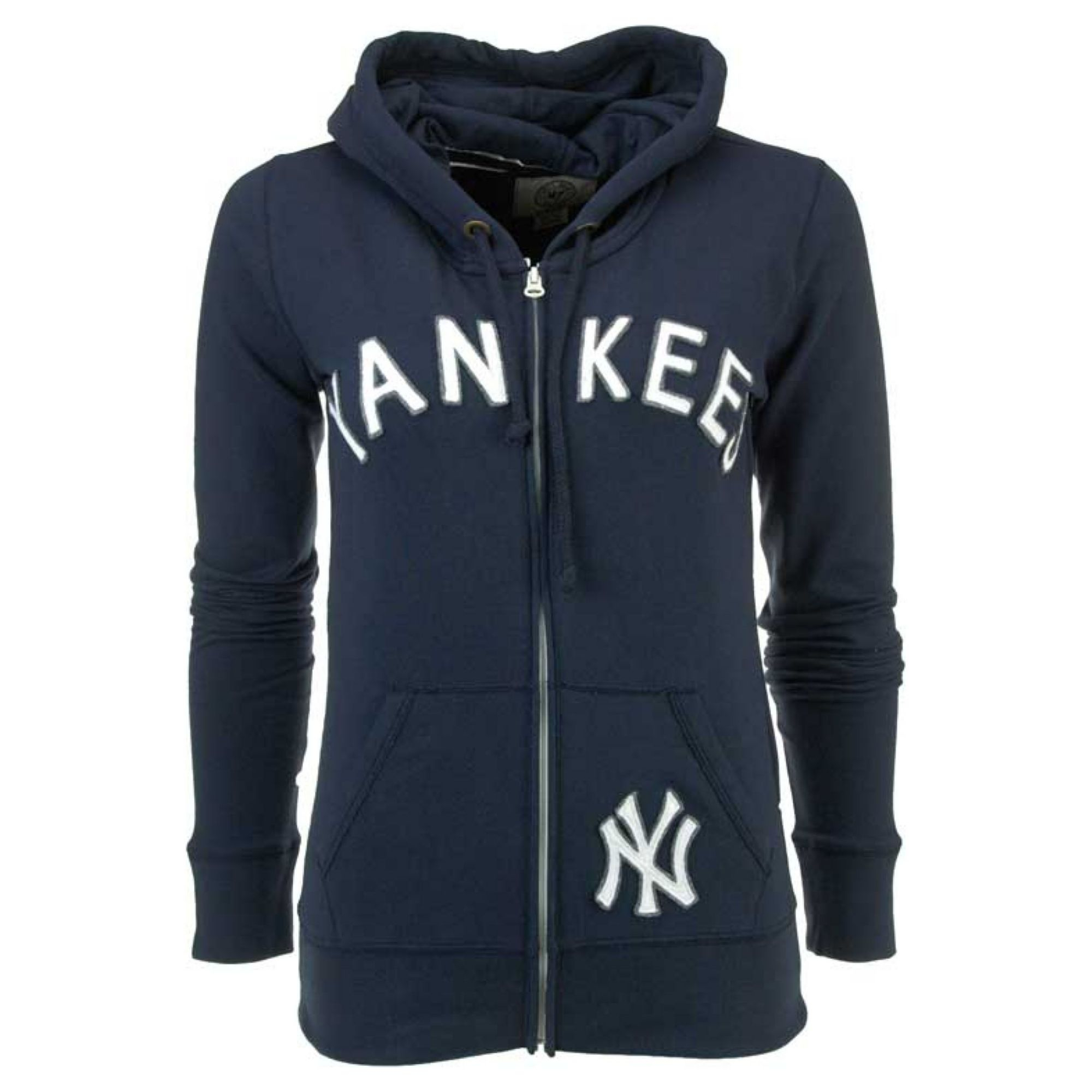 Lyst - 47 Brand Womens New York Yankees Fullzip Hoodie Sweatshirt in ... db4e0e538