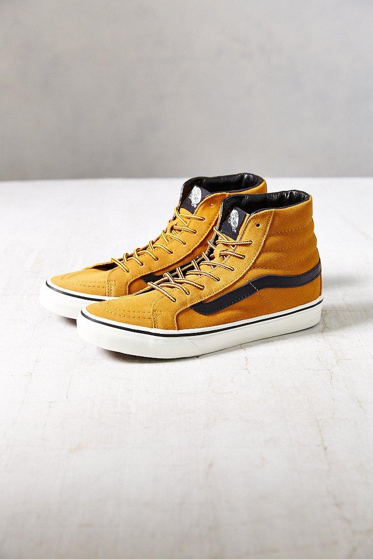 Lyst - Vans Sk8-Hi Slim Hiker Women S Sneaker in Brown 6394bd2dd