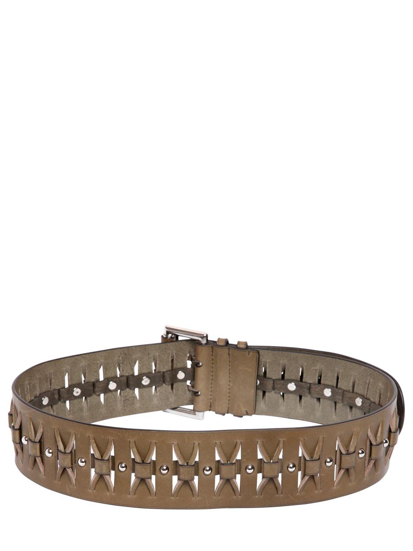 Belt in Aran Calf Leather Emilio Pucci w7Kyqy3R