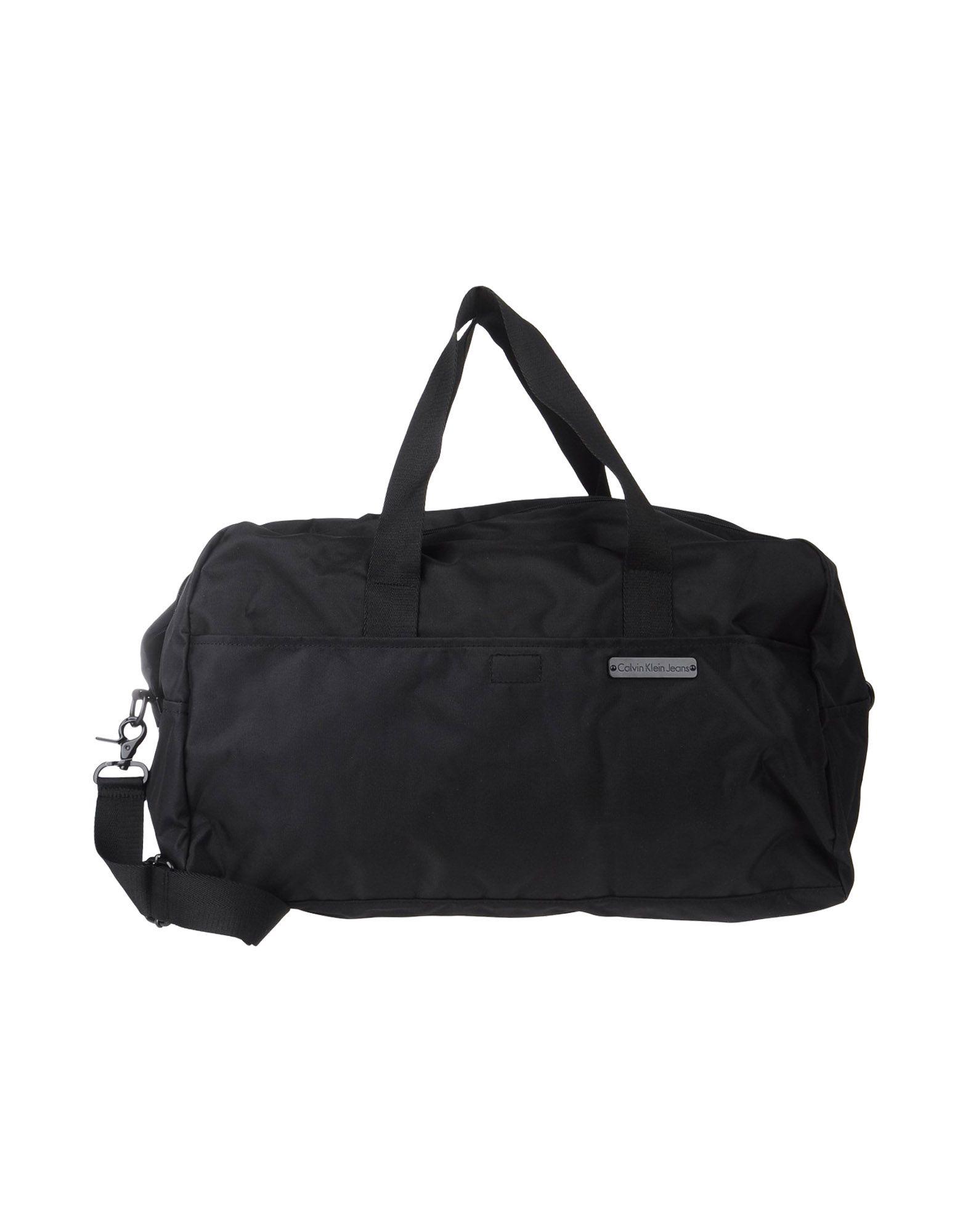 Calvin Klein Jeans Travel Duffel Bag In Black Lyst