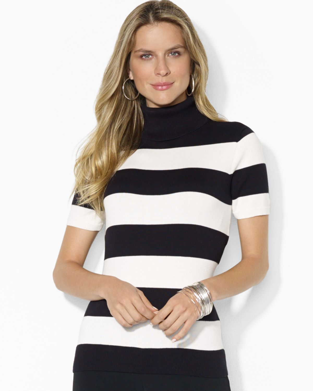 Short Sleeve White Sweater