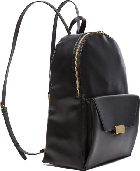 stella mccartney eco rucksack backpack in black lyst. Black Bedroom Furniture Sets. Home Design Ideas