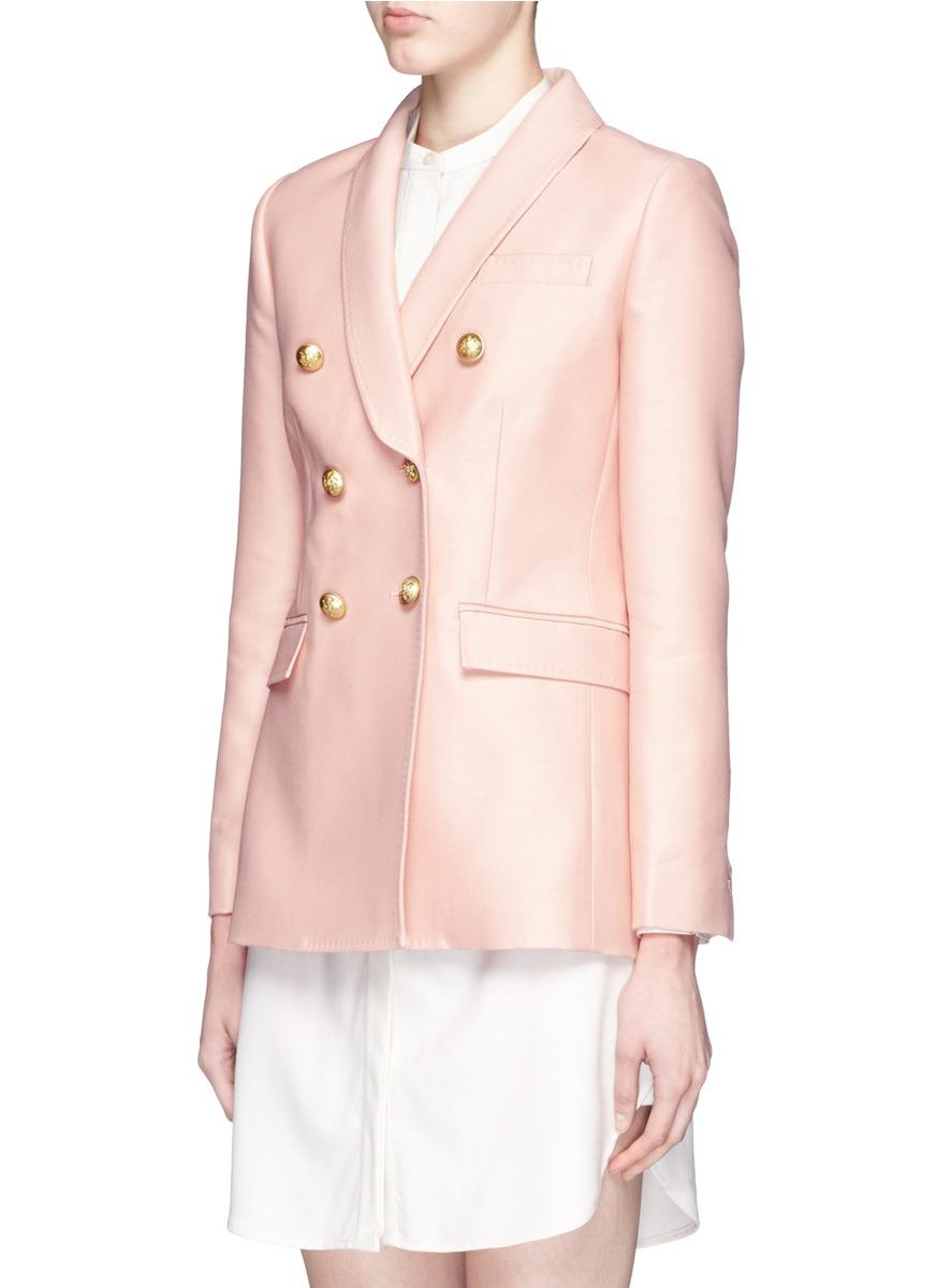 Pink Silk Blazer - Best Blazer 2017
