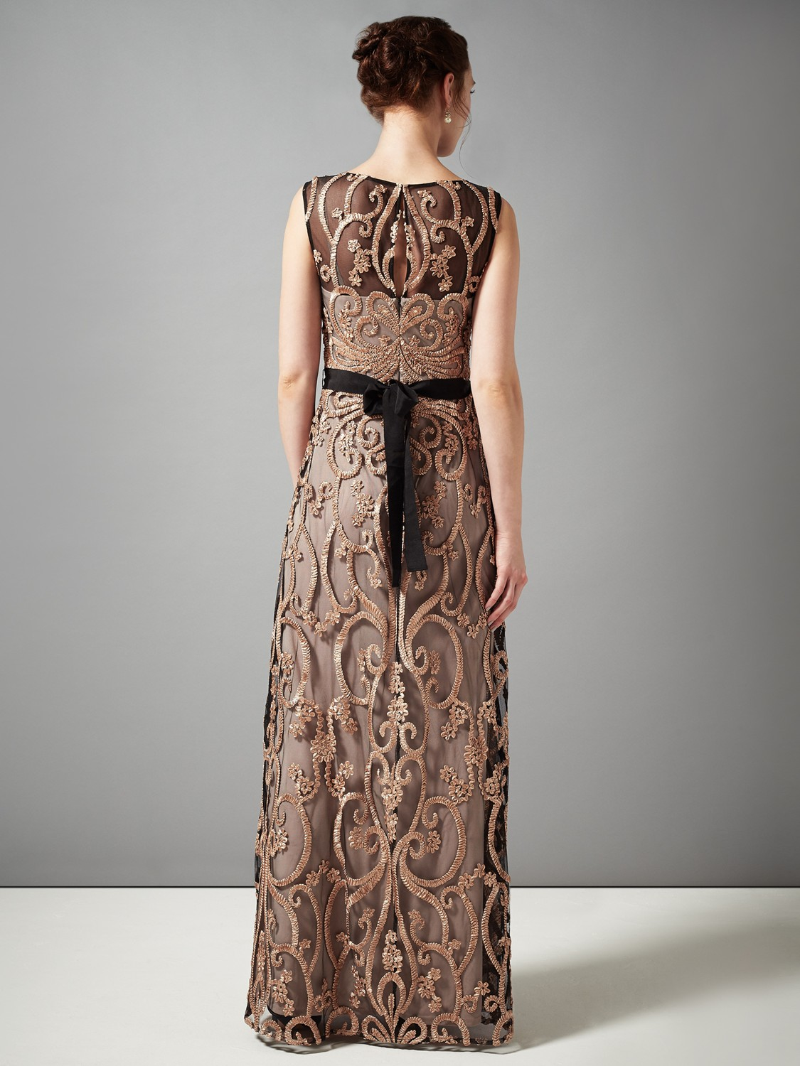Phase Eight Concerto Dress in Metallic - Lyst