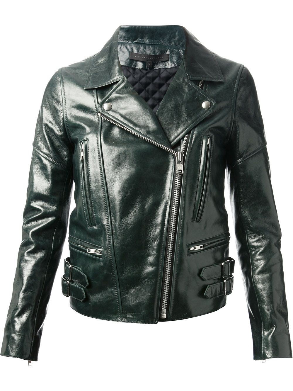 Leather jacket victoria - Gallery