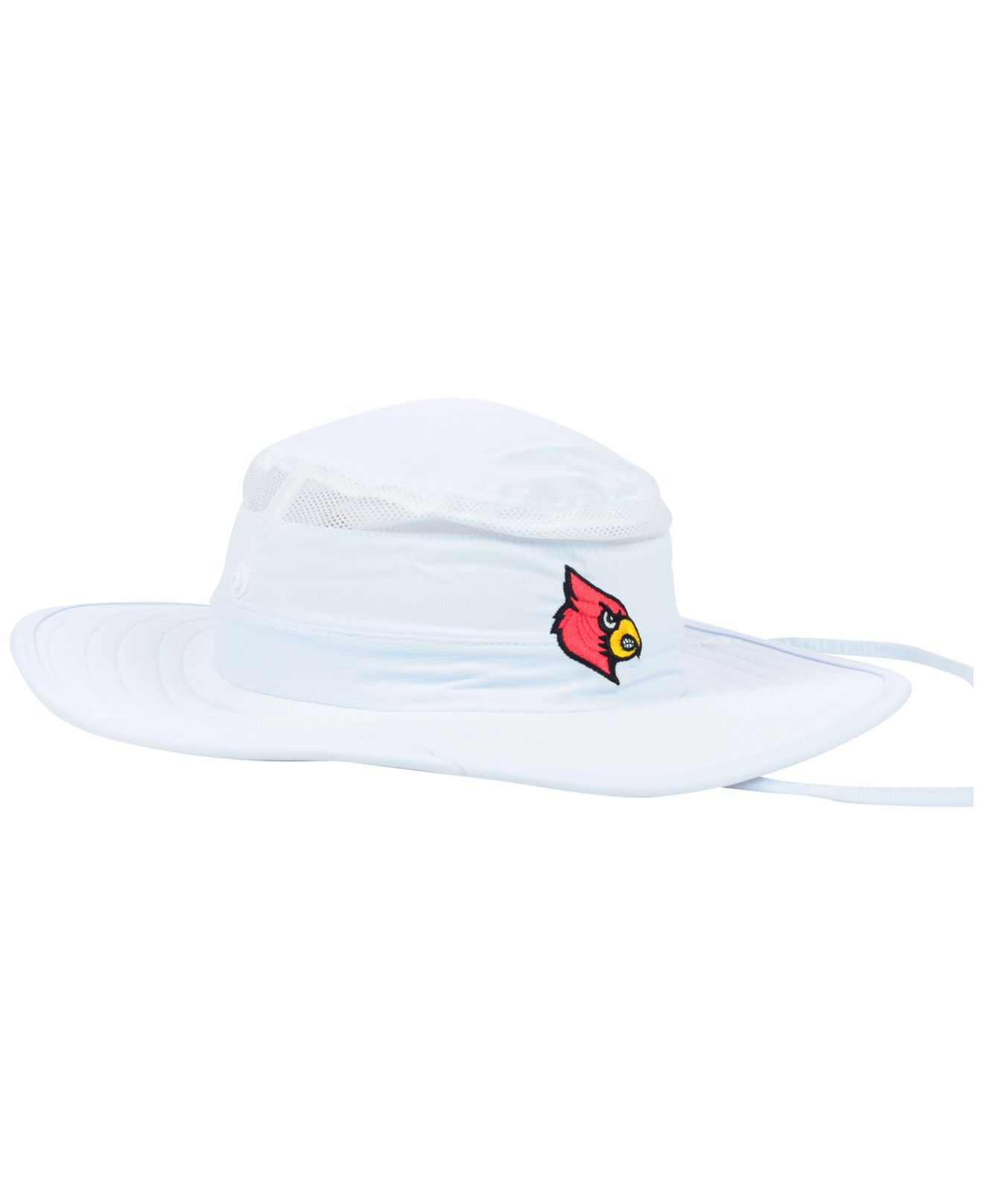 e295a77a396 Lyst - adidas Louisville Cardinals Campus Safari Hat in White for Men
