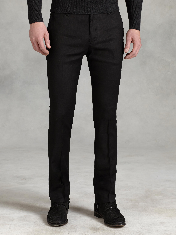Lyst John Varvatos Motor City Jean In Black For Men