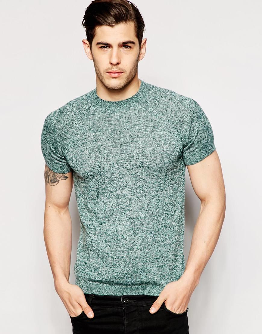 Short Sleeve Slim Fit Shirts For Men