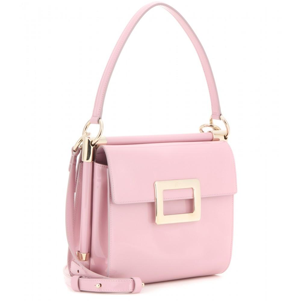 9e231313c3 Lyst - Roger Vivier Miss Viv Bag in Pink