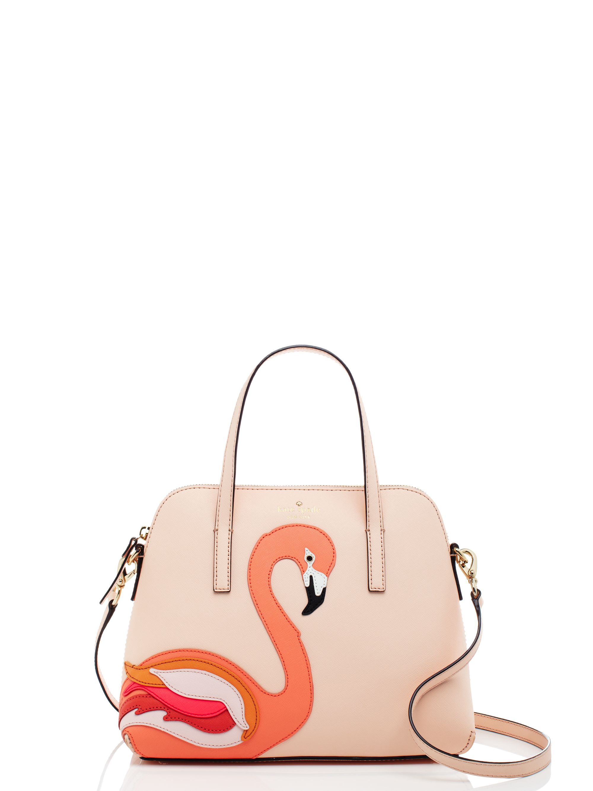 Kate Spade New York Strut Your Stuff Flamingo Applique