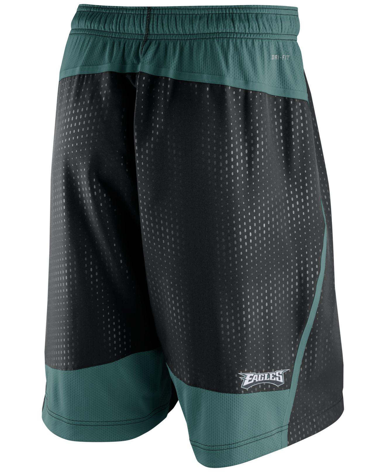 Nike Men S Philadelphia Eagles Dri Fit Fly Xl 3 0 Shorts