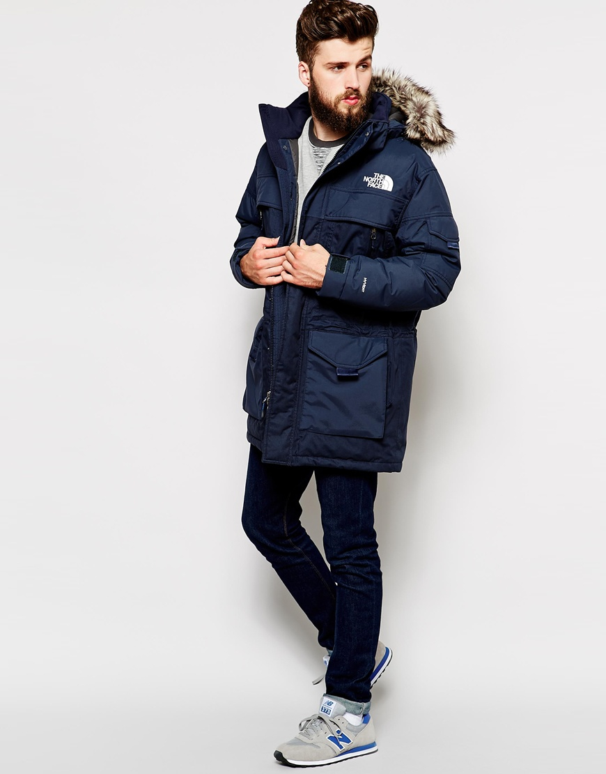 The north face Mcmurdo 2 Parka in Blue for Men
