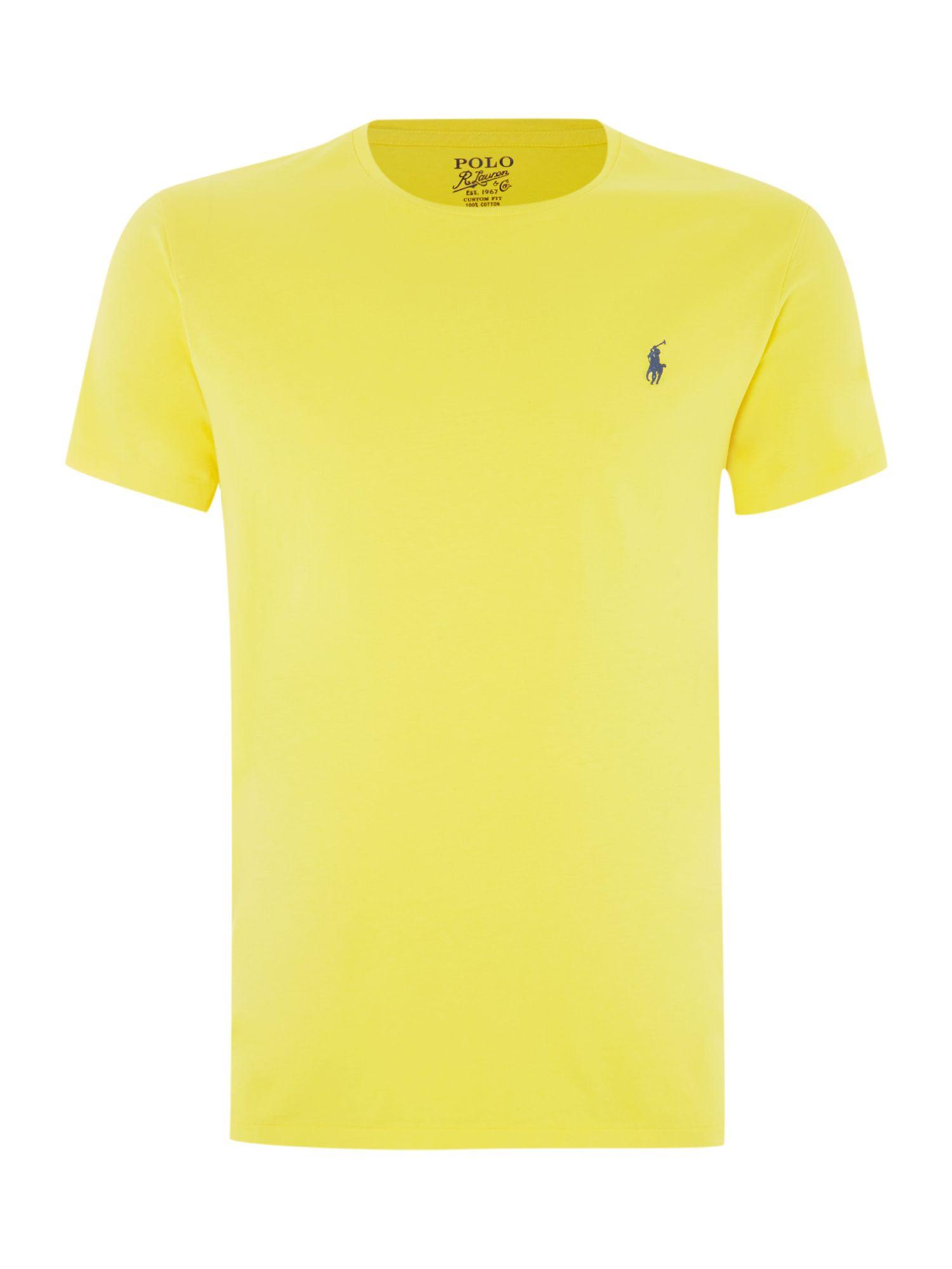 Lyst polo ralph lauren classic custom fit t shirt in for Polo custom fit t shirts