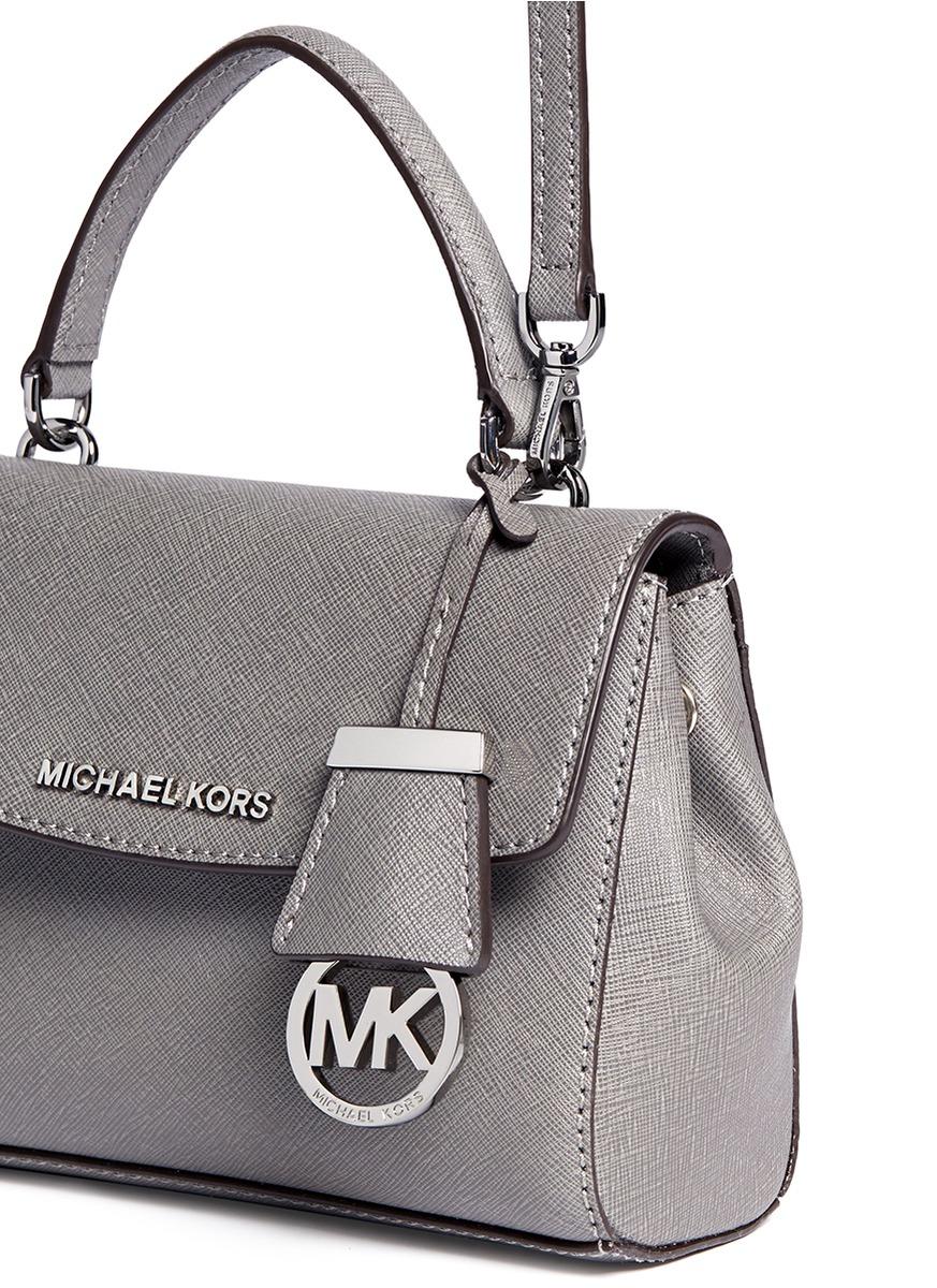 Michael Kors Ava Petite Saffiano Leather Crossbody Bag