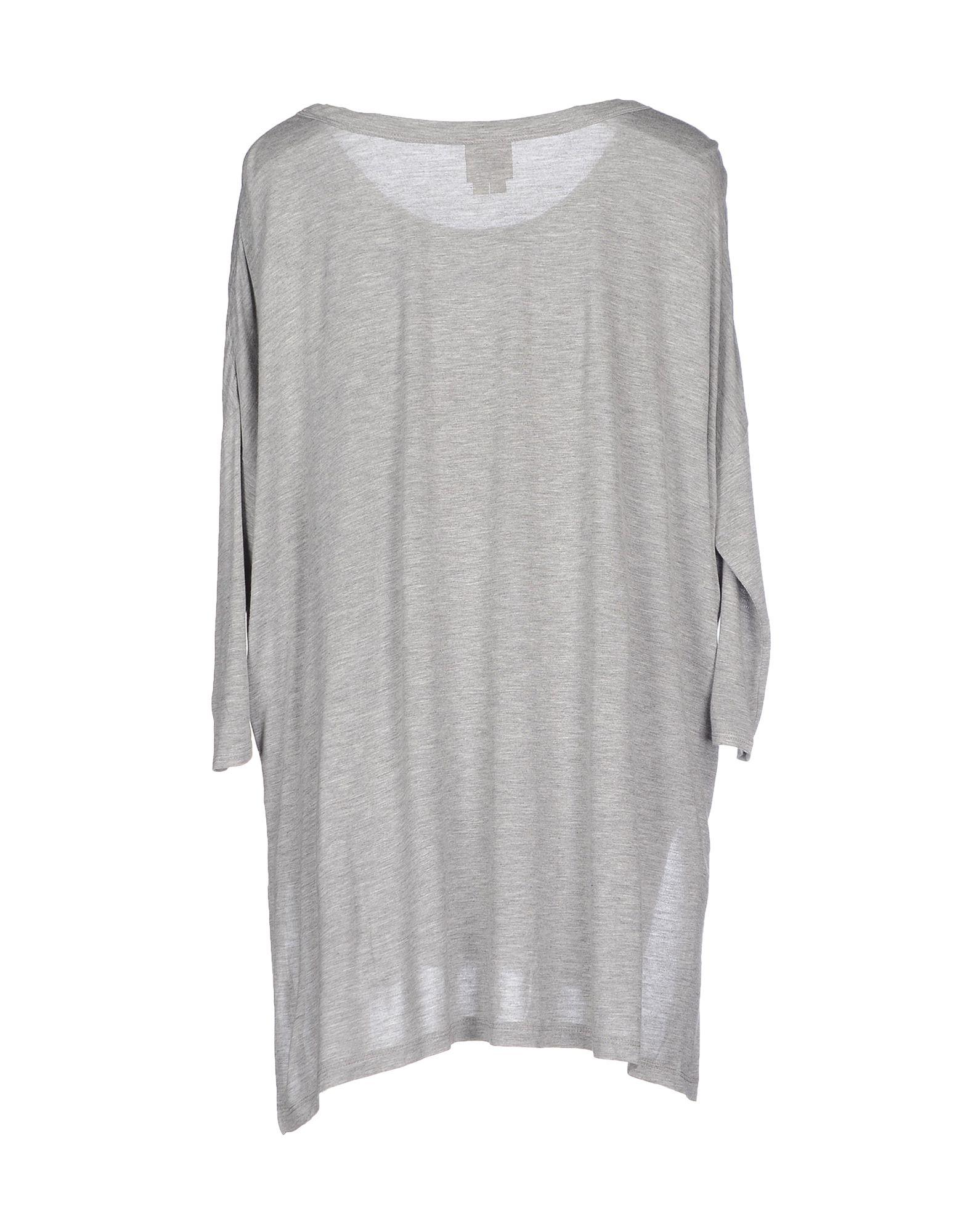 Lyst haute hippie t shirt in gray for Hippie t shirts australia
