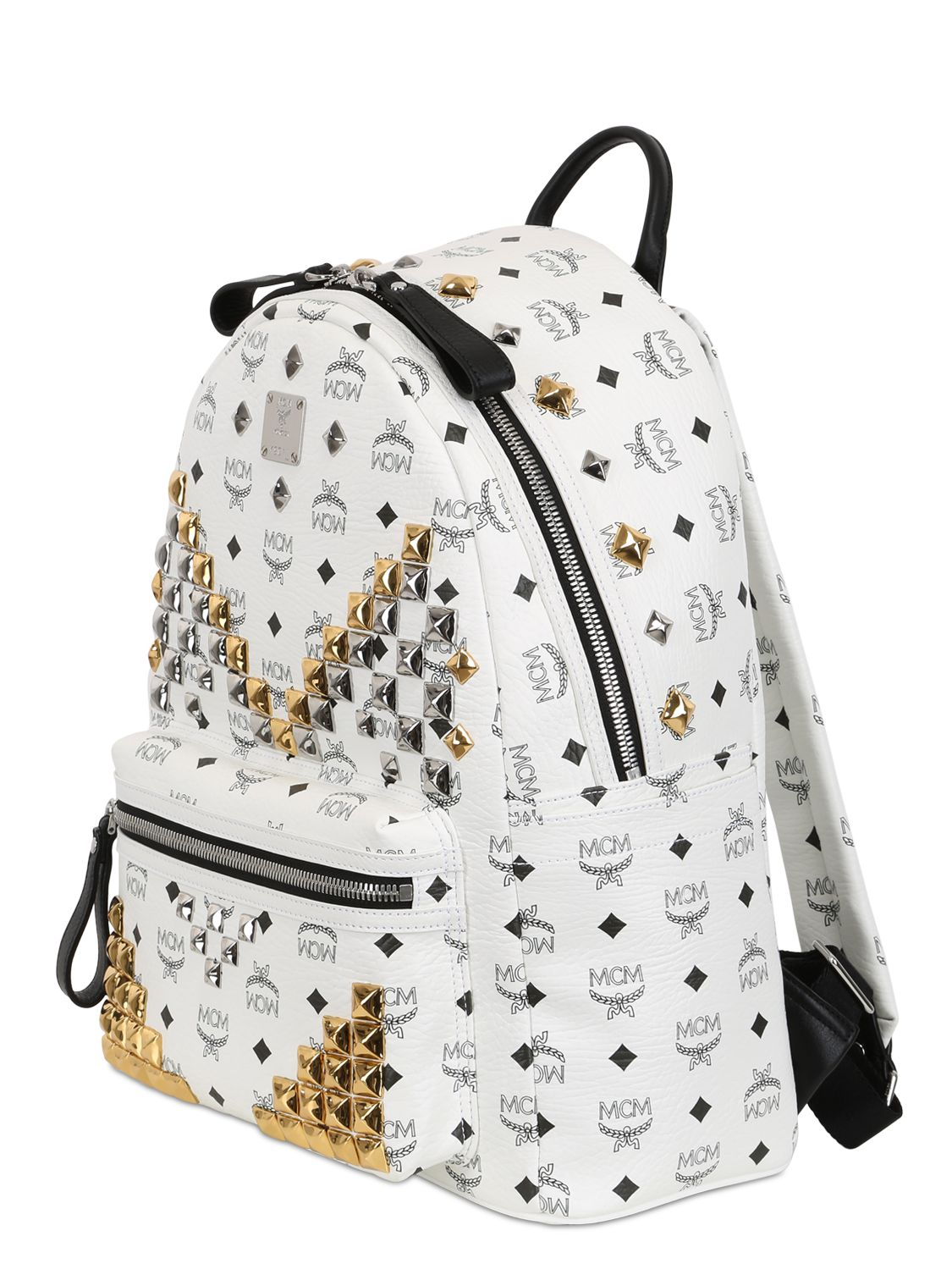 0be6a63ed15 Mcm Stark Mini Backpack White- Fenix Toulouse Handball