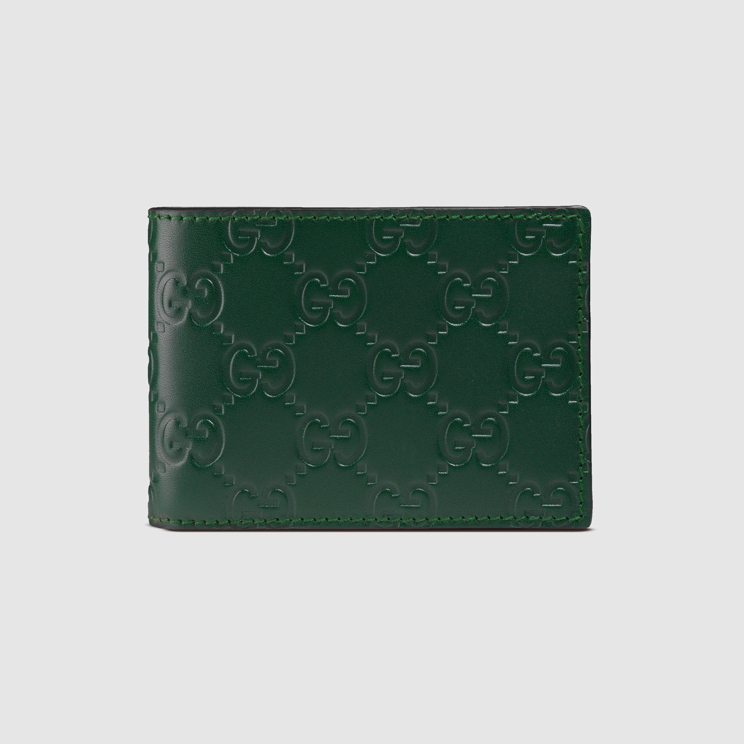 Mens gucci wallet green photo