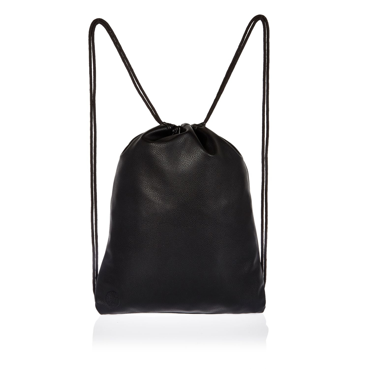 River island Black Mipac Drawstring Kit Bag in Black for Men | Lyst