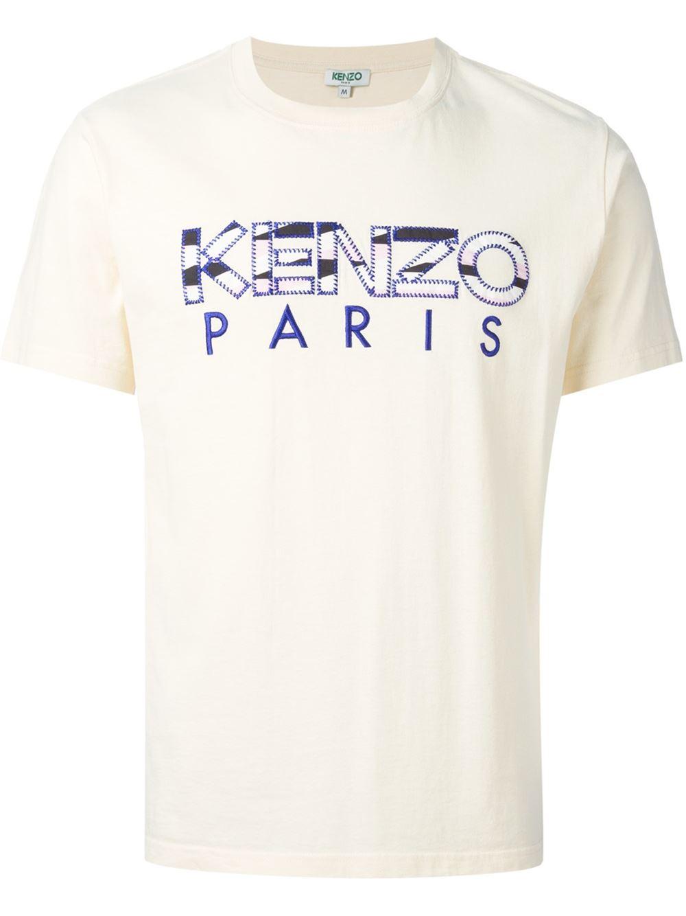c459c6b1a313 Lyst - KENZO   Paris  T-Shirt in Yellow for Men