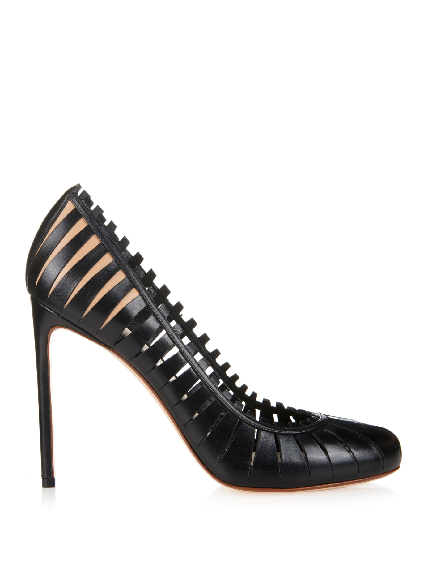 Francesco Russo Cut out pumps Kc30V0GjEQ