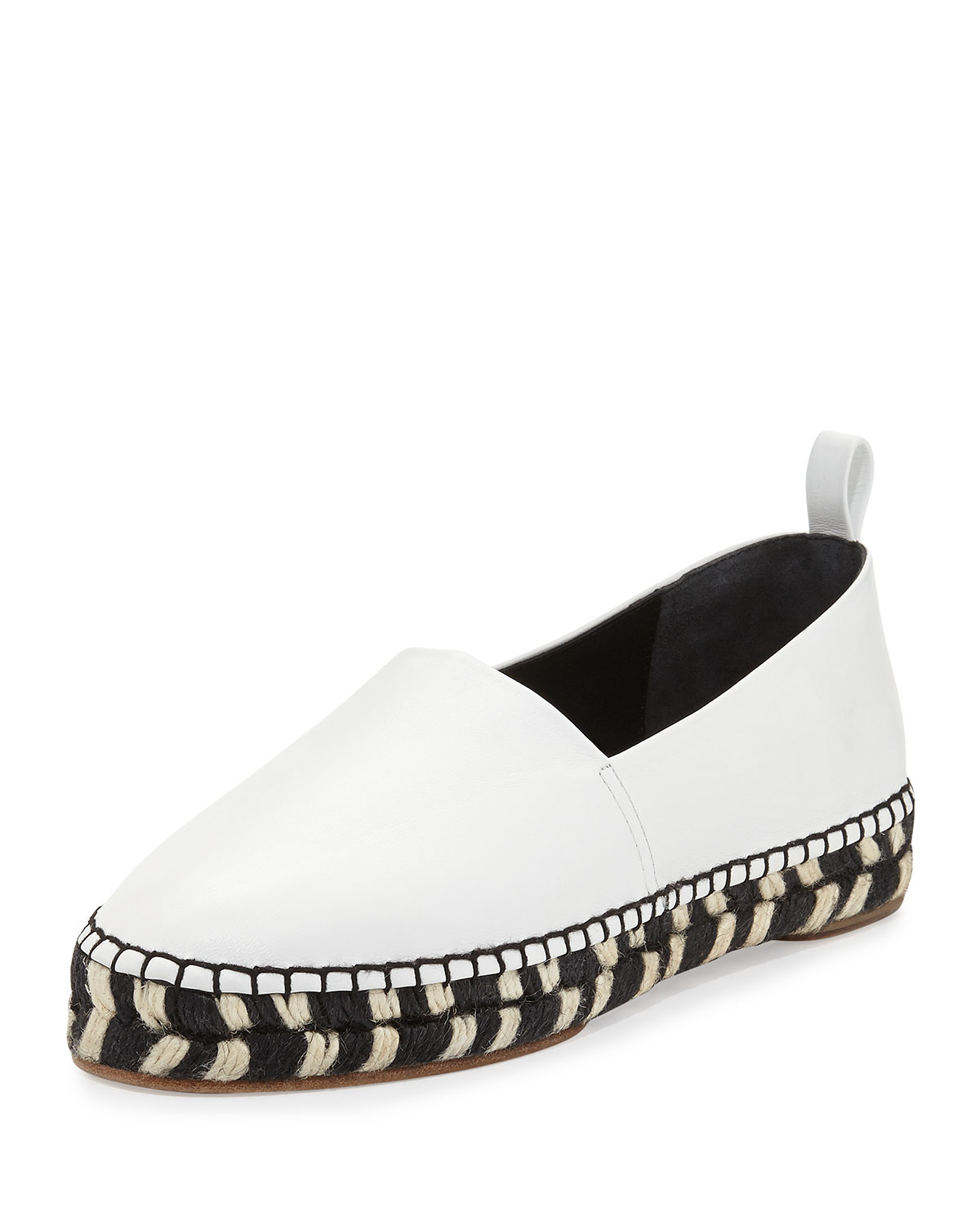 Proenza Schouler Leather Espadrille Flats discount with credit card cheap real finishline KeO7U