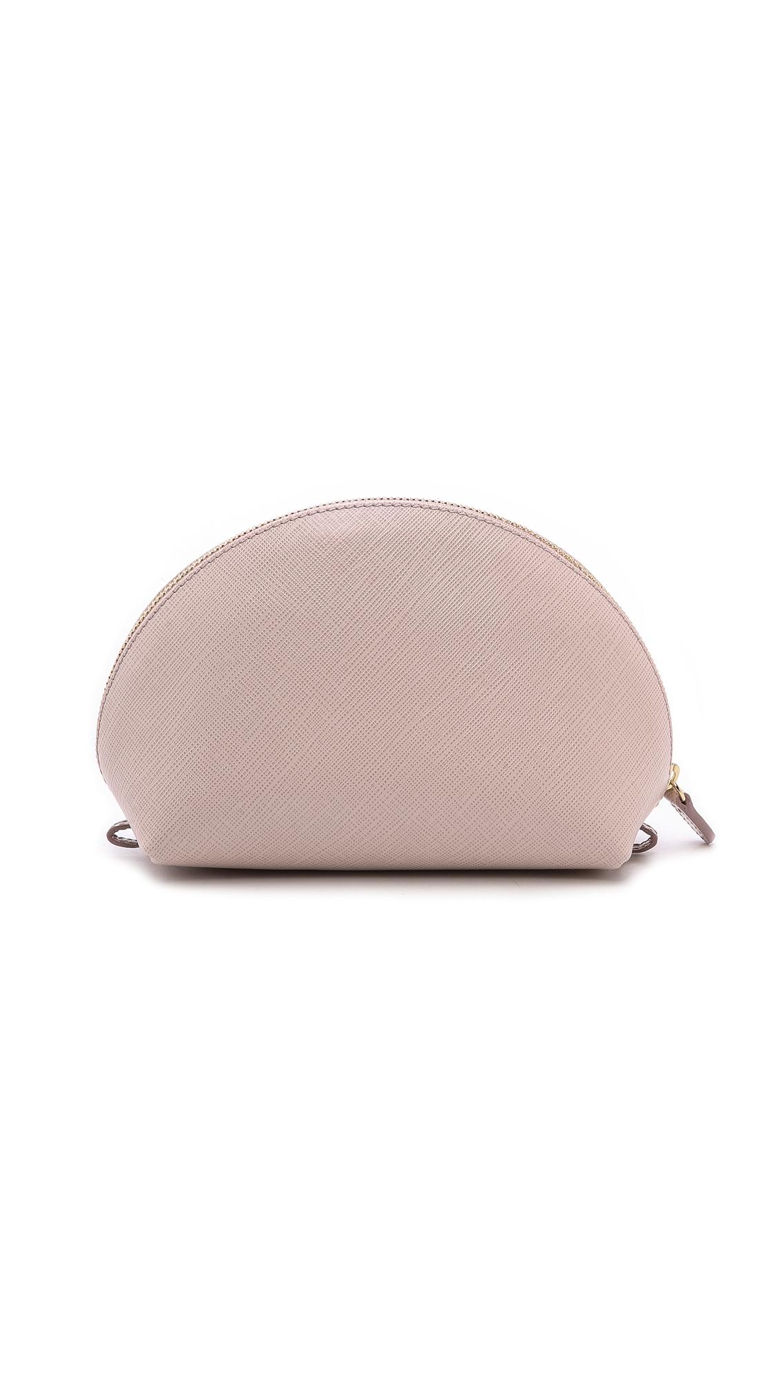 baad27b4c5 Ferragamo Miss Vara Bow Cosmetic Case - Macaron in Pink - Lyst