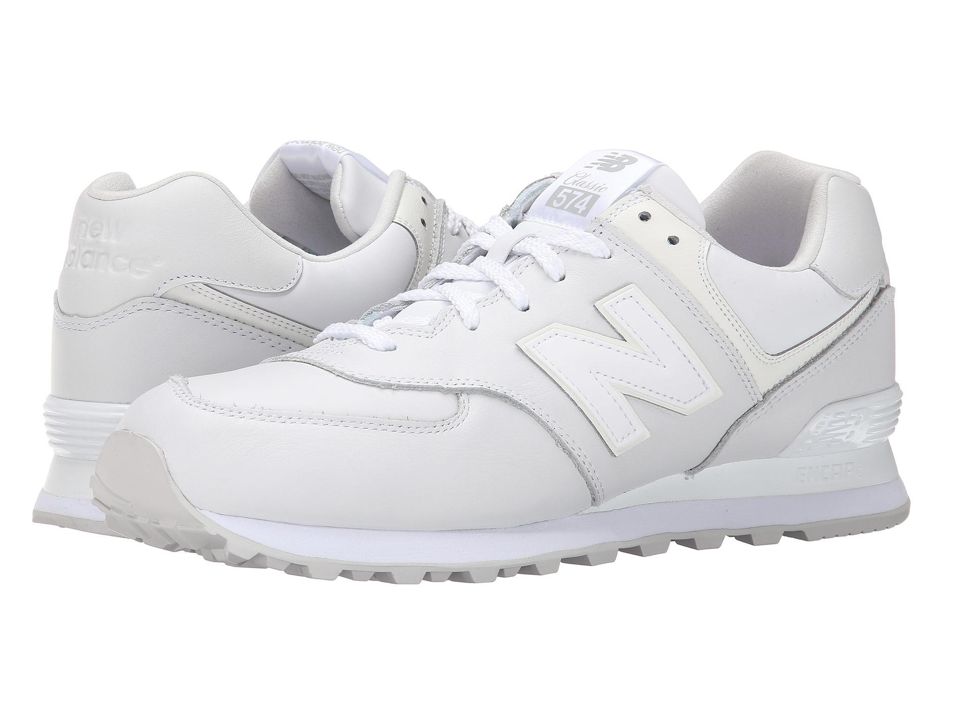 new balance ml574 white