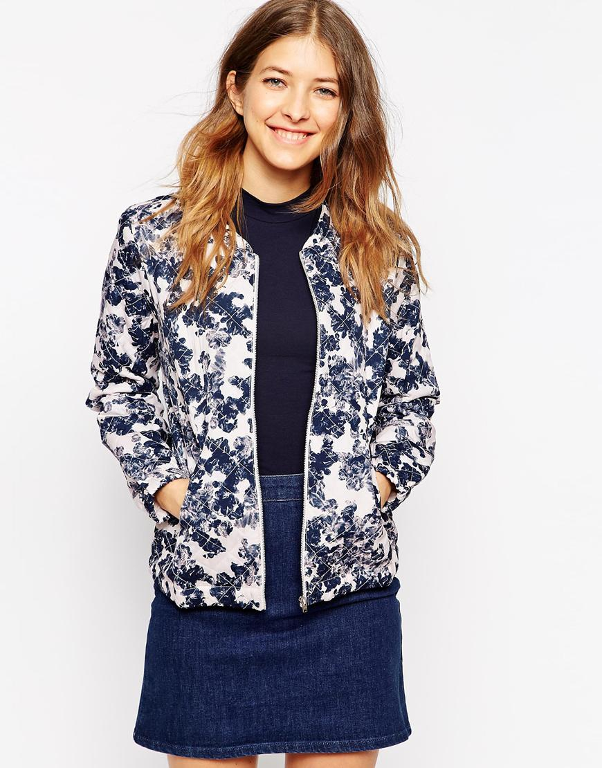 ab7f5d229b1f Lyst - Soaked In Luxury Garijack Floral Print Boxy Jacket