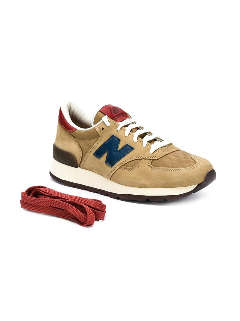 new balance 990 mid century modern sneakers in brown for. Black Bedroom Furniture Sets. Home Design Ideas